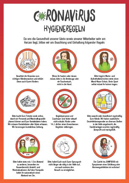 Corona Hygieneregeln