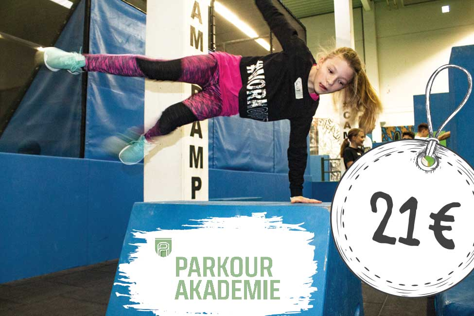 JUMP3000 Parkour Akademie Kurs