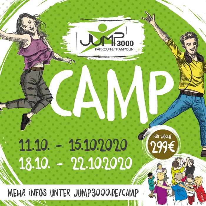 JUMP3000 Herbstcamp